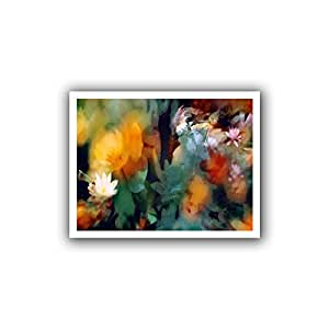 ArtWall Dean Uhlinger 'The Living Desert' Unwrapped Flat Canvas Artwork, 18 by 22-Inch, Holds 14 by 18-Inch Image