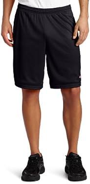 Champion 男士长网状短裤,配口袋