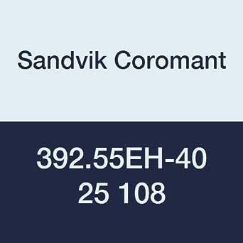 Sandvik Coromant 392.55EH-40 25 108 钢制旋转适配器,可更换头,1 个槽,ETOP螺纹接头尺寸E25