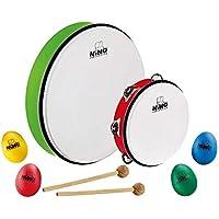 Nino Percussion 塑料蛋调味瓶 4 件套 – 适用于教室音乐或在家玩耍,NP-4