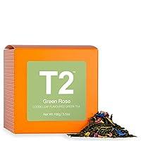 T2 茶*玫瑰叶叶*茶,盒装,3.5 盎司 (100g)