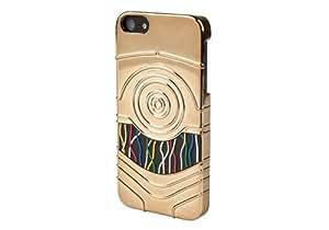POWER A CPFA100407 星球大战 C3P0 收藏者手机壳 适用于 iPhone 5-1 件装 - 金色CPFA100407 均码 金色