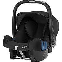Britax Römer宝得适 婴儿提篮 儿童汽车*座椅 BABY-SAFE PLUS SHR II 城市太空舱II 适用于 0 +(出生 – 13公斤) Cosmos Black