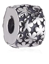 Pandora 潘多拉 纯银 小花朵固定扣 790533(丹麦品牌 )