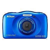 Nikon COOLPIX W 100 ( 14.17万像素 , 3 – X OPT . Zoom ( 2.7英寸显示屏 ) )