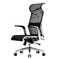 【送棉坐垫】sihoo 西昊 人体工学电脑椅 家用 老板转椅办公椅 网布透气电竞椅子 X1-Pro(亚马逊自营商品, 由供应商配送)