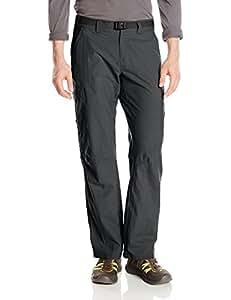Columbia Men's Hiking Trousers, CASCADES EXPLORER PANT, Nylon, Grill, Size: 34, AM8686 海外卖家直邮