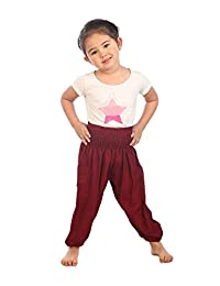 Lofbaz 儿童嬉皮泰哈伦·哈伦 Aladdin 海盗 儿童裤 波西米亚风 宽松 颜色