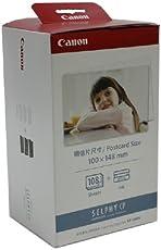 Canon 佳能炫飞照片打印机相纸 KP-108IN 4R/6寸相纸(108张/盒) CP910、CP900、CP810、CP800、CP790、CP780、CP770、CP760、CP730、CP720