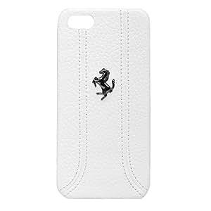 CG Mobile Ferrari 原装手机壳 iPhone 5-1 件装 - 零售包装FEFFHCP5FW 白色
