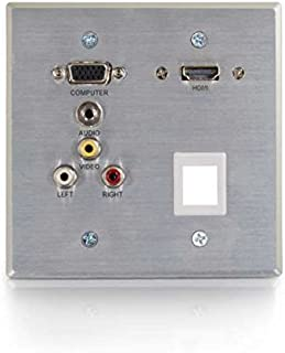 C2G/Cables to Go 60134 RR 光学的 AL WP HD15+3.5+3RCA+1KS+HDMI