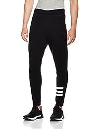 adidas NEO 阿迪达斯运动生活 男式 针织裤 BR8514 黑/白 M CS SPCR TP