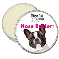 Blissful Dog UNSC-15OZ-PIEFBD 法国斗牛犬宠物狗无香型鼻子黄油 4-Ounce