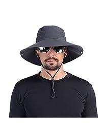 UShake 蚊头网帽,Safari 帽子太阳帽带隐形网网布保护户外爱好者男女均可戴戴的昆虫蜂蜜蚊帐