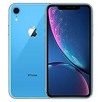 【2018新款】Apple 苹果 iPhone XR 128G 蓝色 6.1英寸 移动联通电信4G手机 双卡双待 套装版【含chirslain清洁套装+钢化膜】