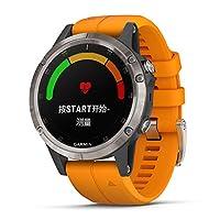 GARMIN 佳明 飞耐时 Fenix 5 Plus 蓝宝石镜面 心率腕表 音乐 NFC支付 高尔夫 GPS定位 户外运动 导航 手表 (钛合金) 顺丰发货 可开16% 的专票