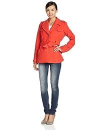 Esprit 埃斯普利特女士 时尚百搭纯色收腰外套 LC1836