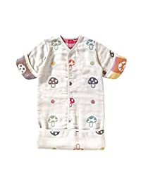Hoppetta 蘑菇儿童睡袋 软绵绵纱布(6层纱布)