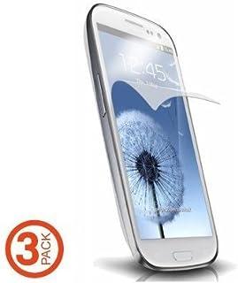 三星 Galaxy S3 通用防眩光屏幕保护膜,3 件装 - 非零售包装 - 透明