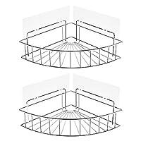 浴室架,著名粘合角浴室架收纳架壁挂式淋浴架收纳架适用于厨房马桶 304 不锈钢无钻孔