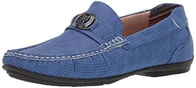 STACY ADAMS 男士 CYD 一脚蹬乐福鞋驾驶风格 浅蓝色 7.5 M US