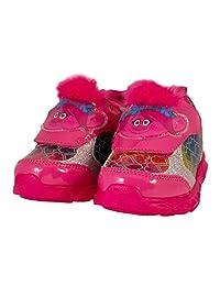 Favorite Characters Trolls Poppy 粉色发光运动鞋(幼儿/小童)