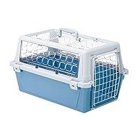 Ferplast Atlas 10 户外运输袋适用于狗/猫篮 2 色 时尚 蓝色/灰色