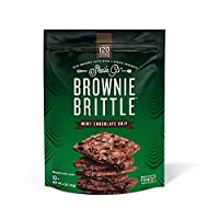 Brownie Brittle, Mint Chocolate Chip, 5 Oz Bag (Pack of 6), The Unbelievably Delicious Chocolate Brownie Snack with A Cookie Crunch (Packaging May Vary)