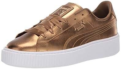 PUMA 女式篮球防水台时尚运动鞋 Ermine-ermine 5.5 M US