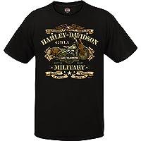 Harley-Davidson *图案短袖圆领 T 恤 - 海外巡回演 - 战争自行车