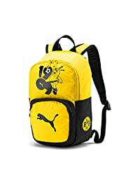 Puma BVB Kids Backpack 背包 Cyber 黃色