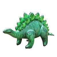 Jet Creations DI-STE8 充气剑龙恐龙 46 英寸长 - 非常适合游泳池、派对装饰、儿童和成人生日