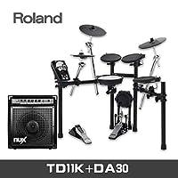 ROLAND罗兰电鼓TD17KV TD11K TD11KV TD17KVX TD25KV电子鼓架子鼓TD11K+DA30