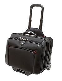 Wenger GA-7001-02F00 COMP-U-ROLLER 14 英寸笔记本电脑超薄保护套 0 带平板电脑口袋 黑色 {6 升}