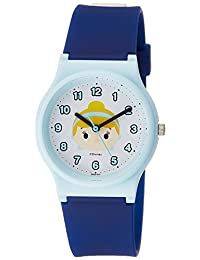 [西铁城 Q&Q]CITIZEN Q&Q 手表 迪士尼 收藏 TSUMTSUM 灰姑娘 聚氨酯表带 蓝色 HW00-010 女孩