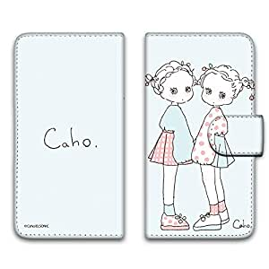 caho 保护套印花翻盖蓬松手机保护壳翻盖式适用于所有机型  ふわふわE 5_ ARROWS M01