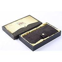 萨博尔LS-201牛皮长款男士钱包商务钱包收手拿包创意礼品送男友
