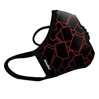 Vogmask N99CV时尚成人防雾霾,PM2.5,防尘户外运动旅行口罩 Genesis 1只 L号(参考体重:131-200磅/59-90公斤)(进口)