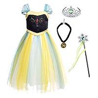 JerrisApparel 雪地派对礼服 女王服装 公主角色扮演装扮