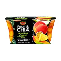 Del Monte 水果和奇亚零食杯 Mixed Fruit 7-Ounce (Pack of 6)