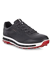 Ecco 爱步 男 高尔夫球鞋 MEN COOL PRO GORE-TEX 155304 50612-砖黑 40