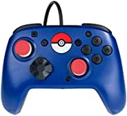 PDP 开关控制器 Faceoff 模式套件 Pokeball Blue Pokeball Faceplate