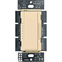 Lutron Maestro C.L Dimmer Switch for Dimmable LED, Halogen & Incandescent Bulbs, Single-Pole or Multi-Location, MACL-153M-IV, Ivory