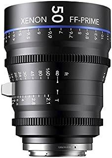 Schneider十字架 1078473 Cine 镜头 FF-Prime T2.1/50 毫米,Canon/m 黑色