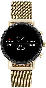 Skagen Connected Falster 2 不锈钢触摸屏智能手表,带心率、GPS、NFC 和智能手机通知