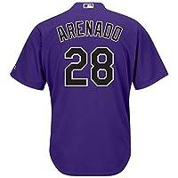 Nolan Arenado 科罗拉多洛矶队紫色青年酷炫基础备用球衣