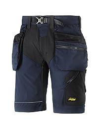 Snickers 69049504048 尺码 121.92 厘米弹性工作短裤 - *蓝/黑色 *蓝/黑色 50 69049504050