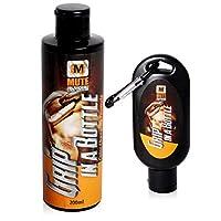 MUTE | 液体运动粉笔与玫瑰组合套装 - 6.7 盎司补充瓶和 1.7 盎司带登山扣的旅行瓶 - 适用于体操、攀岩、岩、岩石、棒球、功能健身