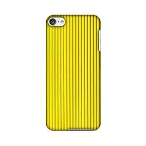 AMZER 超薄设计师扣合硬壳后盖带屏幕护理套件,适用于* 6 代 iPod TouchAMZ601040371285 Carbon Fibre Redux Cyber Yellow 12