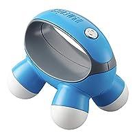 HoMedics Quatro 迷你手持式按摩器,配有手柄,电池供电(颜色可能有所不同)